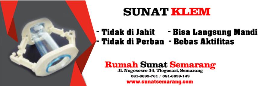 Sunat Metode Klem di Semarang